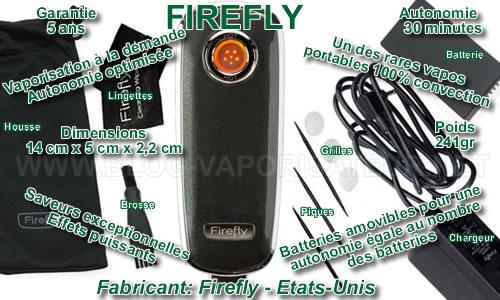 Vaporisateur portable à chauffe dynamique Firefly - les atouts et les faiblesses