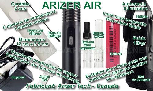 Les forces et les faiblesses du nouveau vapo portatif Arizer Tech - Arizer Air