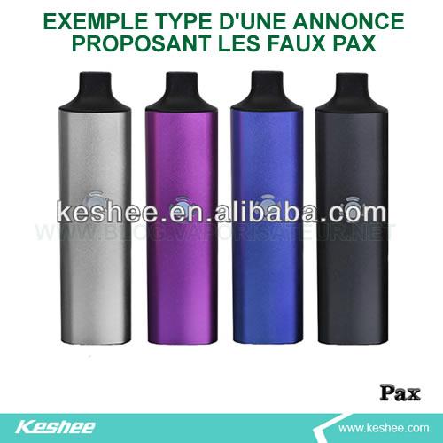 N'achetez jamais un vaporisateur Pax 2 auprès des revendeurs non officiels